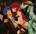 Jellal and Erza 할로윈
