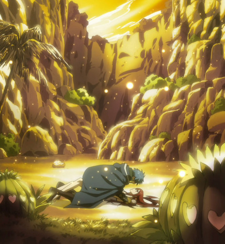 Jellal and Erza romantic moment begin ♥