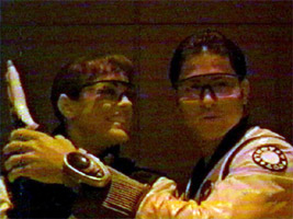 Jen and Alex