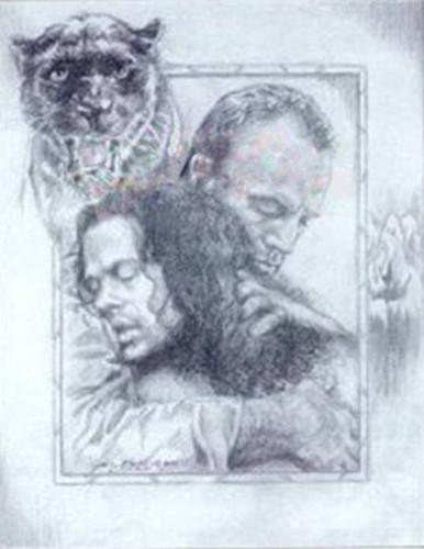 Jim Embracing Blair