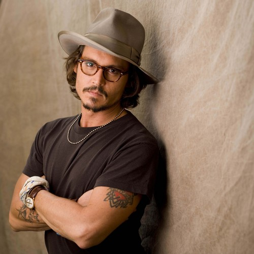 Johnny Depp wallpaper containing a fedora, a campaign hat, and a boater entitled Johnny Depp