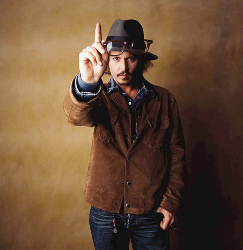 Johnny Depp wallpaper with a snap brim hat, a fedora, and a campaign hat entitled Johnny Depp