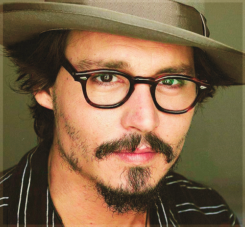 Johnny Depp wallpaper containing a fedora, a boater, and a snap brim hat entitled Johnny