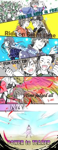 Kamen Rider OOO-Random Fan Art
