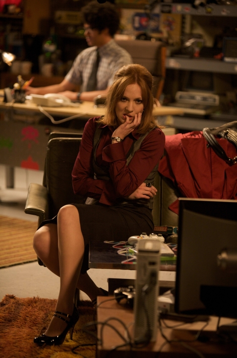 Katherine Parkinson as Jen Barber in The IT Crowd