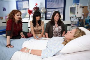 Katherine Parkinson in Coma Girl