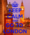 Keep Calm - london fan art