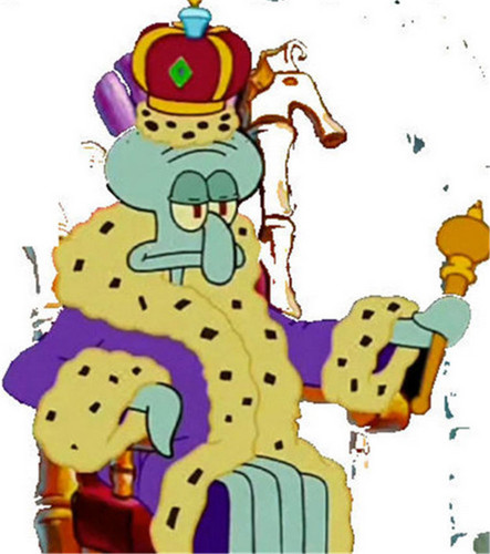 King Squidward