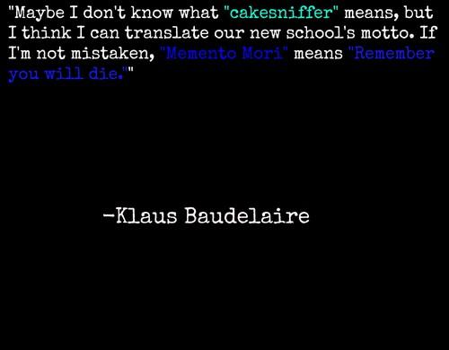 Klaus Baudelaire