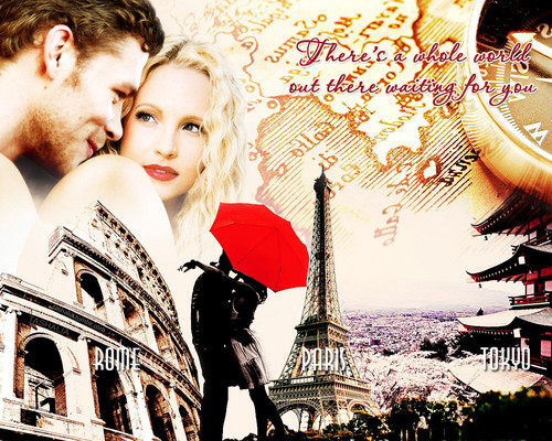 Just a kiss    - Klaus & Caroline Fan Art (32712840) - Fanpop