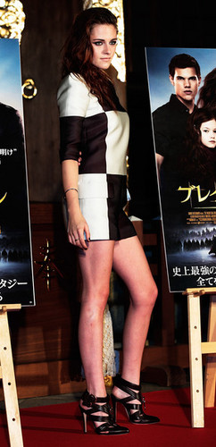 Kristen Stewart promoting Breaking Dawn in Tokyo, Japan