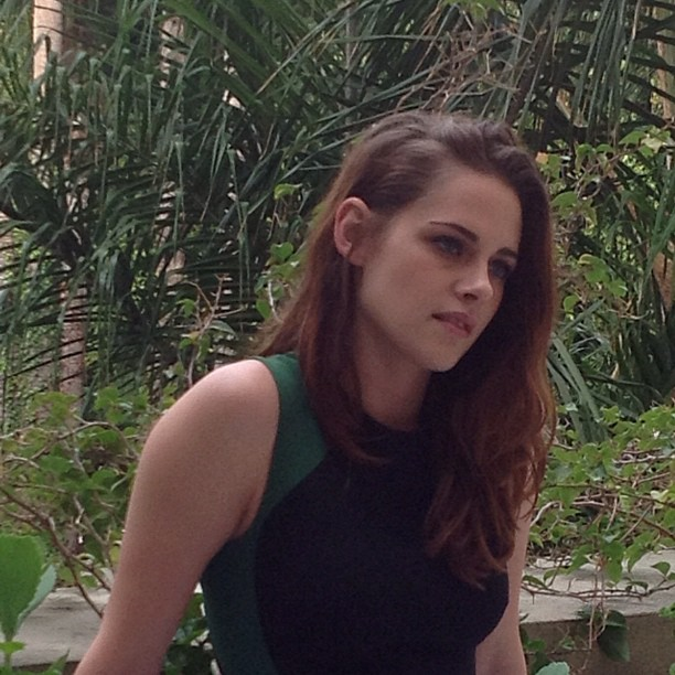 "Kristen during an LA press দিন for ""The Twilight Saga: Breaking Dawn, Part 2""."