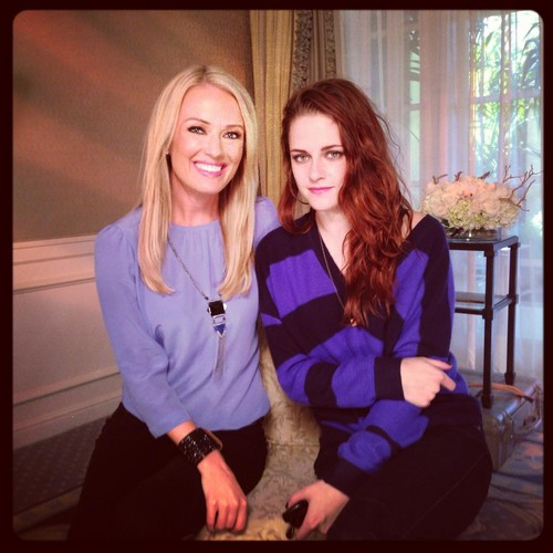 Kristen during her interview with The Insider - 01/11/12.