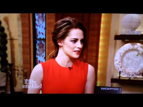 Kristen on Live with Kelly and Michael