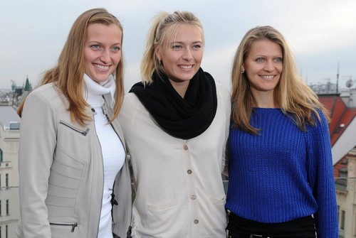 Kvitova,Sharapova and Safarova