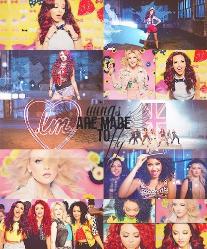 Little Mix achtergrond entitled LM<33