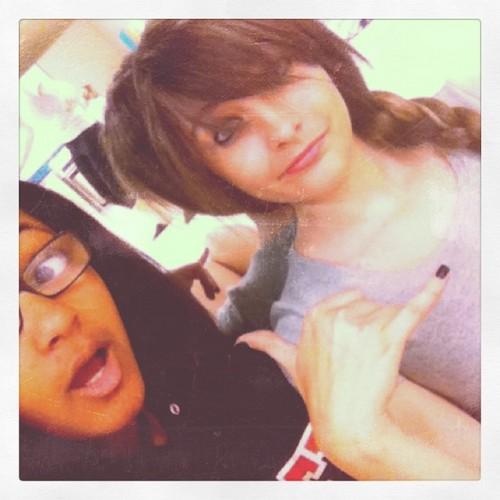 Leah Purvis and Paris Jackson ♥♥