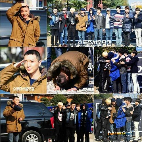Leeteuk Enters Military Service :'(