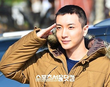 Leeteuk Enters Military Service :'( - super-junior Photo