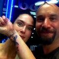Lena's wrist tattoo, a little bird - lena-headey photo