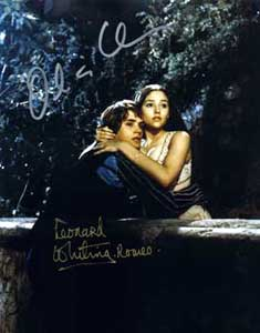 Leonard Whiting (Romeo) & Olivia Hussey (Juliet) - 1968 Assorted foto's