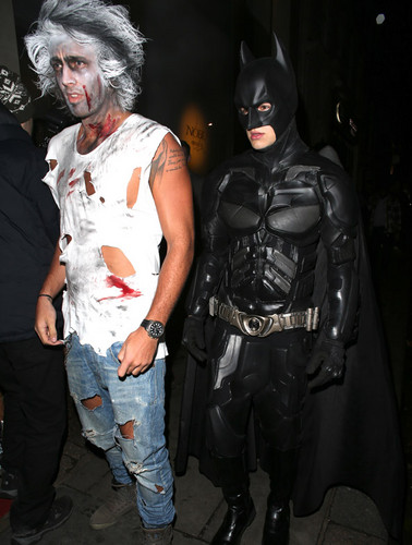 Liam at a Halloween party