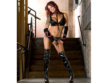 "Amy ""Lita"" Dumas fond d'écran containing a hip boot entitled Lita Photoshoot Flashback"