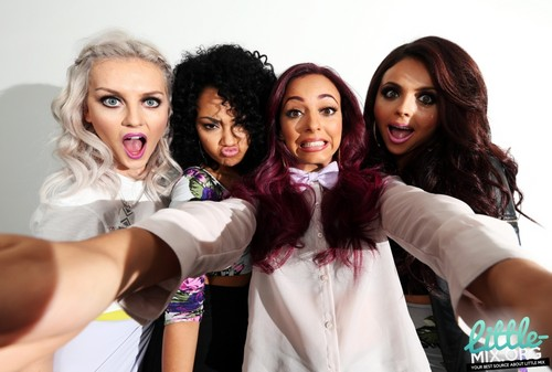 Little Mix fond d'écran with a portrait titled Little Mix: Australian Photo Session in Sydney.