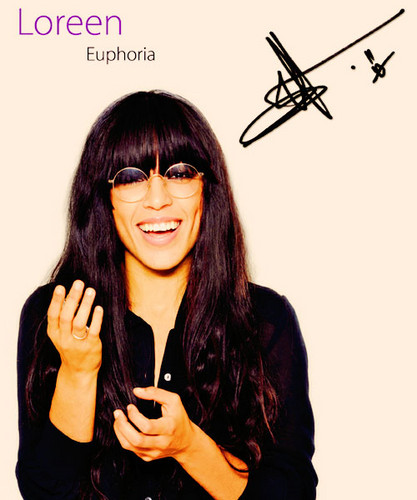 Eurovision Song Contest wallpaper containing sunglasses entitled Loreen (Winner For Sweden)