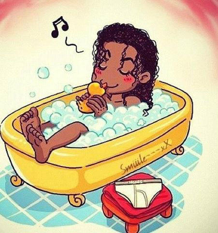 MJ in the bathtub ^__^