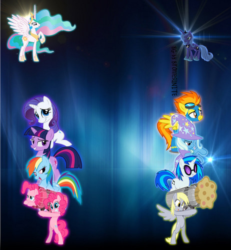 MLP:FIM youtube BG Layout