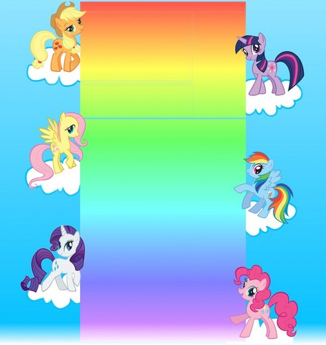 MLP:FiM Youtube BG Layout Part II(2)