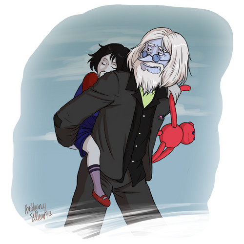 Marceline and Ice King