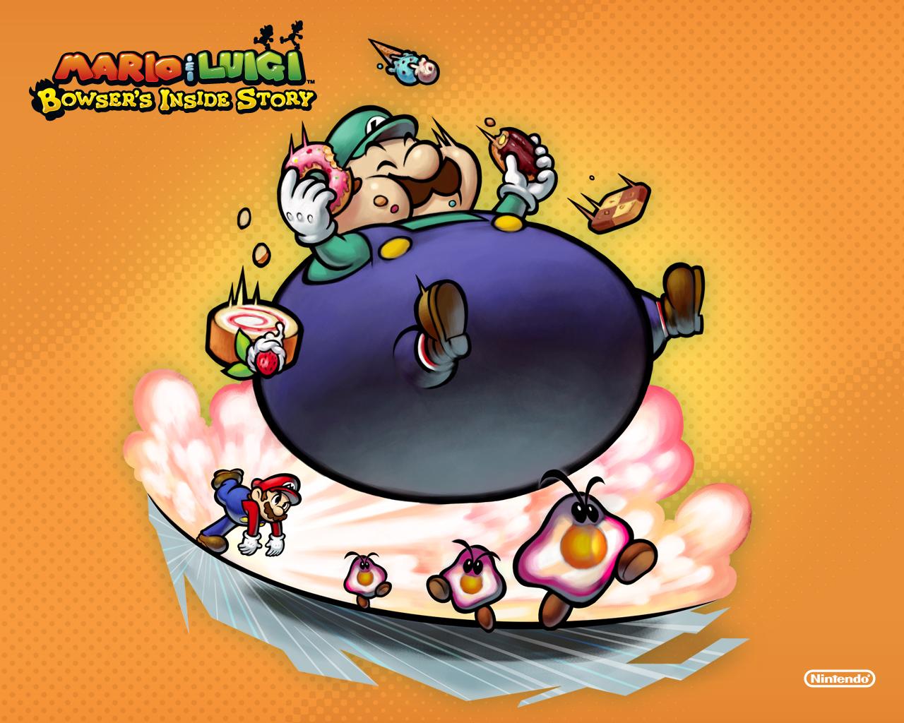Super Mario Bros. Mario and Luigi Bowser inside story
