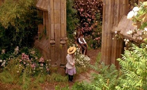 Mary, Colin & Dickon in the secret garden