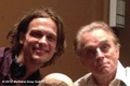 Matthew Gray Gubler with Brad Dourif - matthew-gray-gubler photo