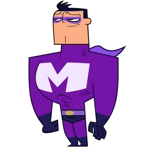 Cartoon Network's Sidekick 壁纸 titled Maxum Man