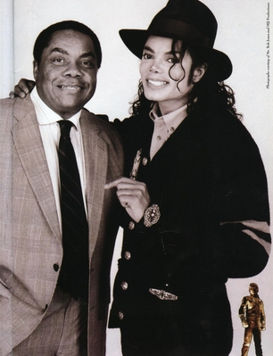 Michael And Former Publicist, Bob Jones