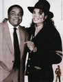 Michael And Former Publicist, Bob Jones - michael-jackson photo