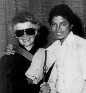 Michael And Legendary Actress, Katherine Hepburn