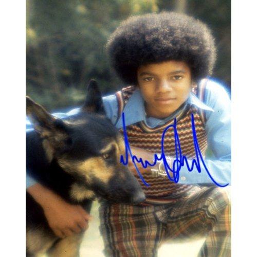 Michael Jackson original autograph