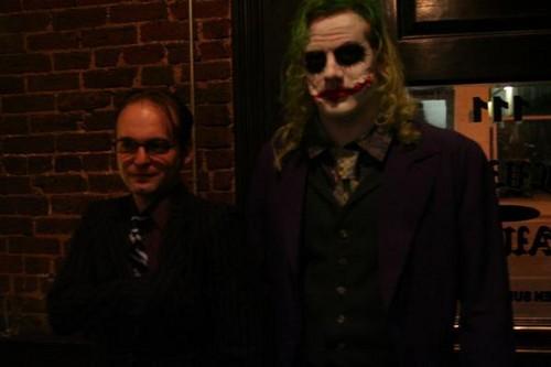 Michael as the Joker