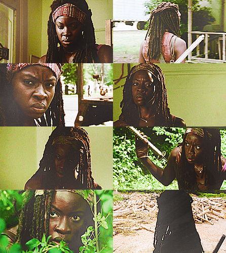 Michonne fond d'écran entitled Michonne