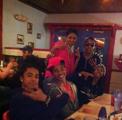 Mindless Behavior, Chilling in the Joe's Big Deck!!!!! :) ;)