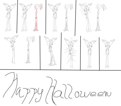 Mini comic of halloween boredom