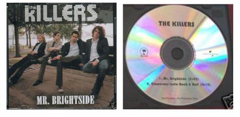 Mr. Brightside cds