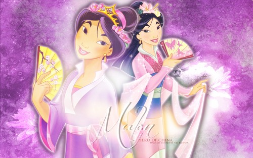 Mulan hình nền entitled Mulan ~ ♥