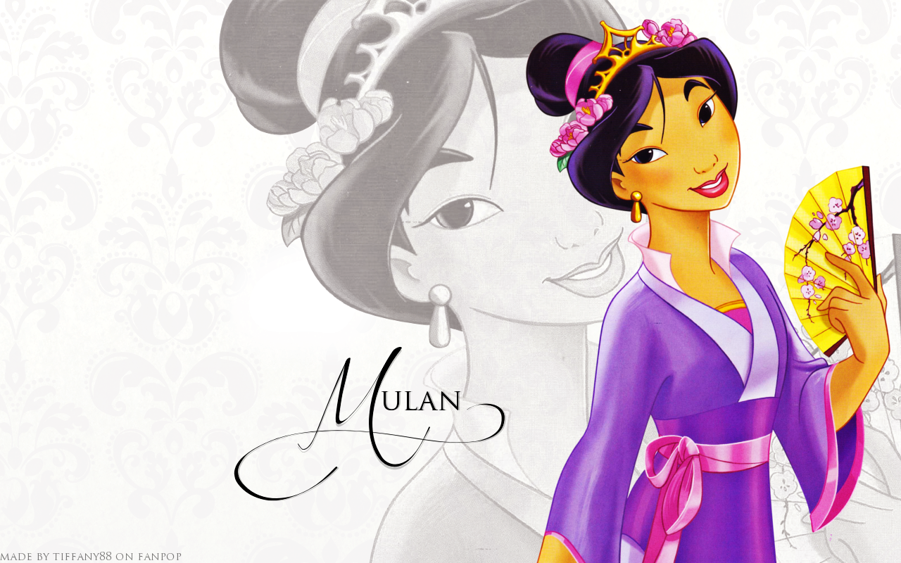 mulan mulan wallpaper 32656998 fanpop