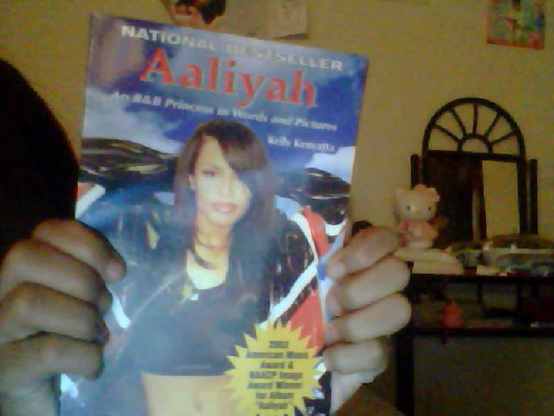 My Aaliyah book came!