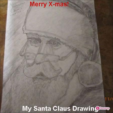 My Drawing Of Santa Claus